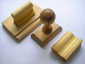 оснастка для печатей из дерева
